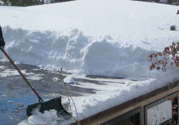 Boston Roof Snow Removal