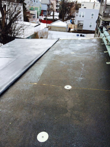 Boston EPDM Rubber Roof