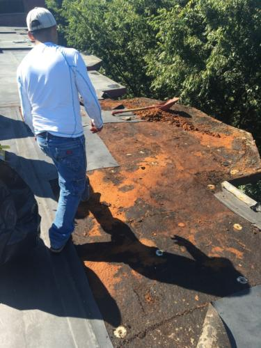 Boston South Rubber Roof Install