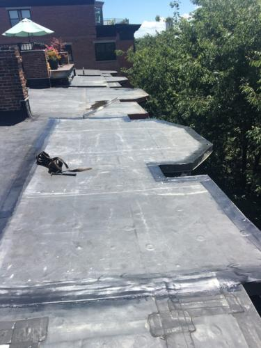 Boston South Rubber Roof Installation