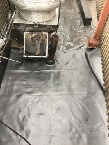 Flat Roof Section Replaced Boston