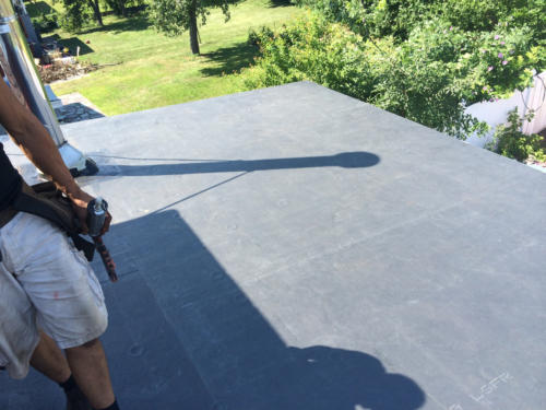 Rubber Roof Replacement – West Revere